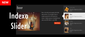 Introducing Indexo Slider WordPress Plugin