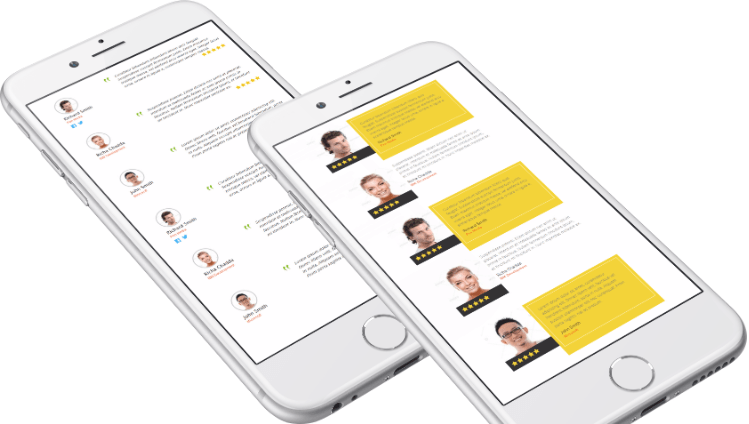 Rich Testimonials – An Elegant Way to Show Testimonials in Slider, List and Grid View