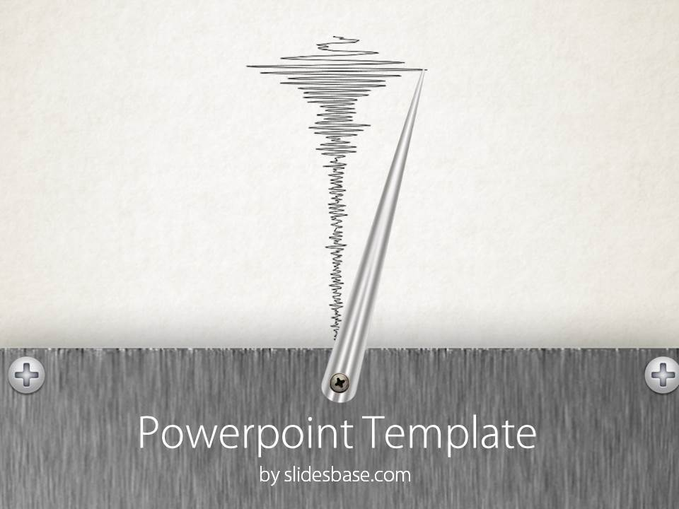 graph paper powerpoint theme