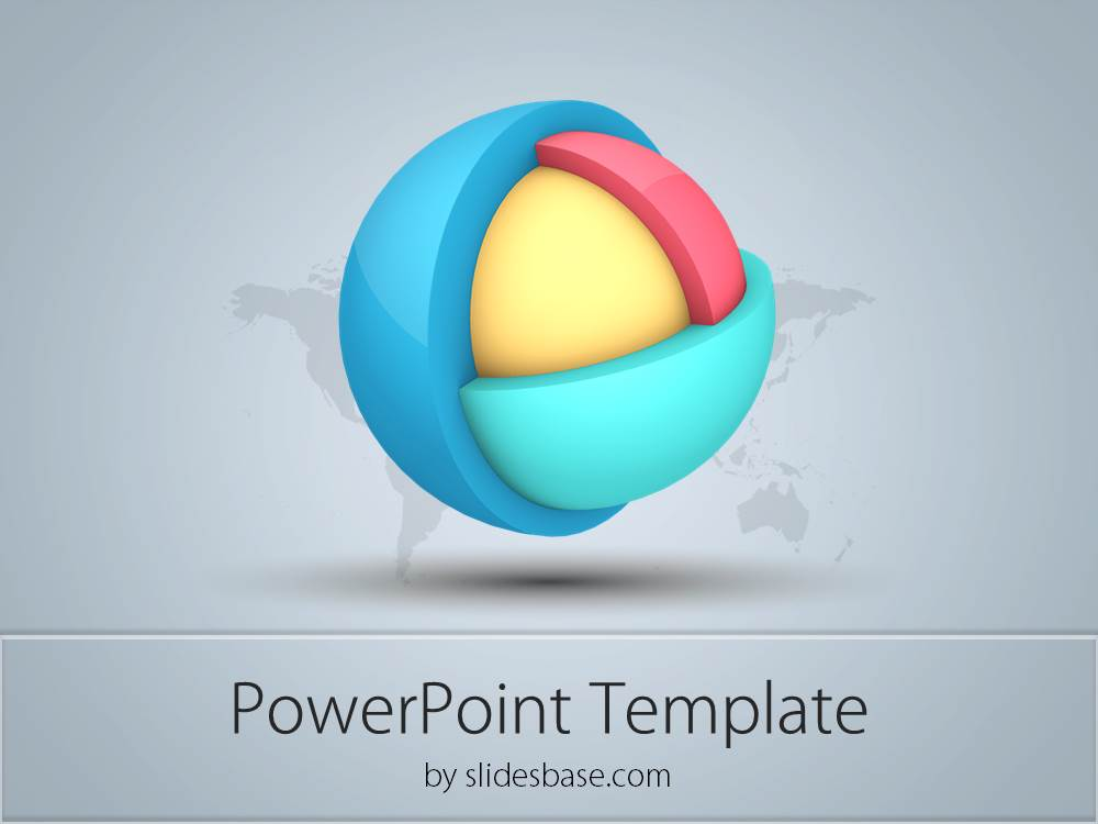 Ppt Diagram 3d Cube Business Design Diagram Powerpoint Template