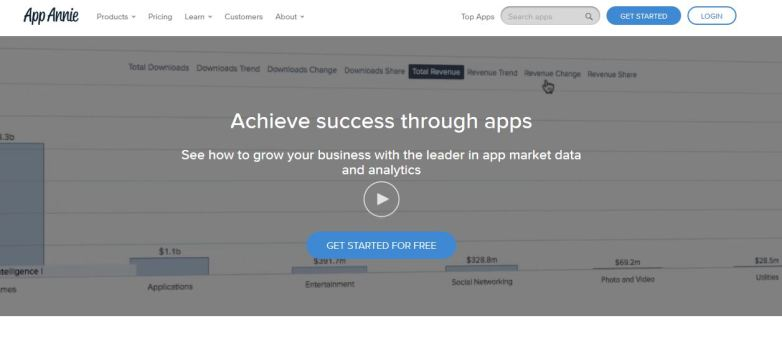 App Store Optimization Tool - App Annie