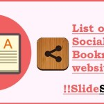 List of top 5 Social Bookmarking websites