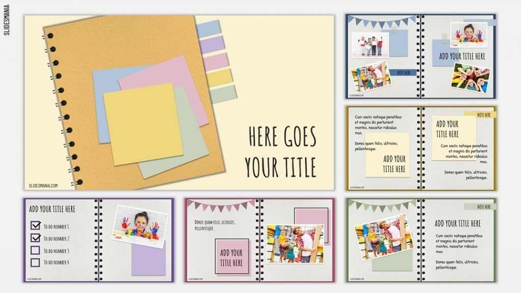 • 12x12 template in photoshop format.zip. Scrapbook Free Template For Google Slides And Powerpoint Slidesmania