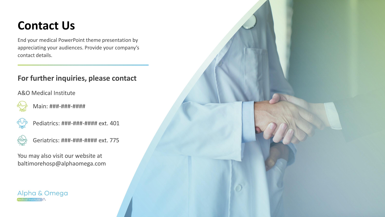 Nursing Diagnosis Premium PowerPoint Template SlideStore