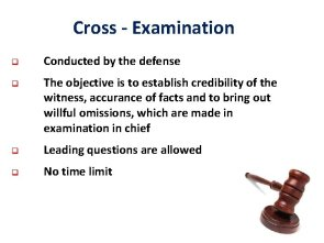 EVIDENCE ACT Law of evidence lay rules for