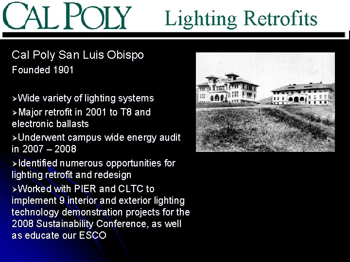 lighting retrofits sustainability best