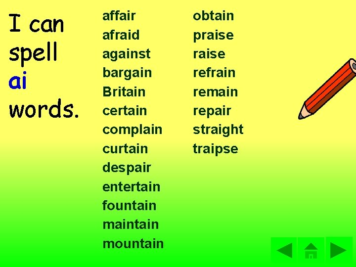 spelling s w s t structured spelling lists