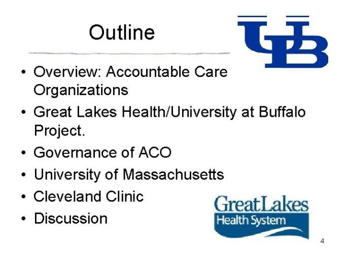 Accountable Care Organizations Thomas Rosenthal Md Dan Lasser