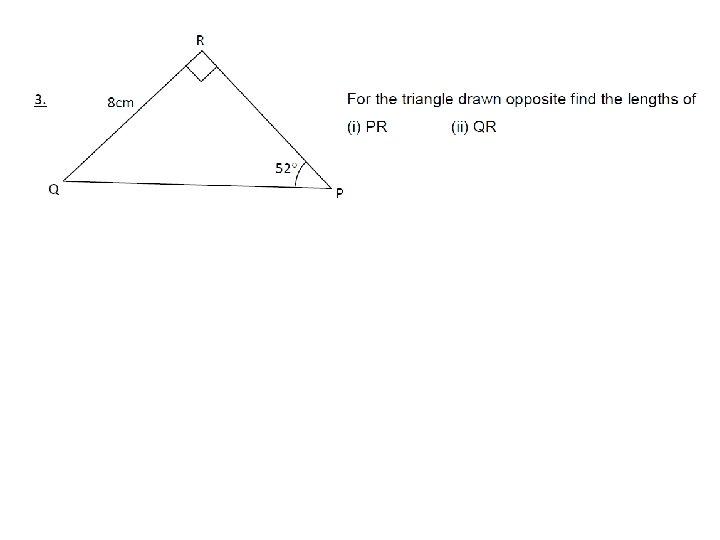 right angled trigonometry 05 december