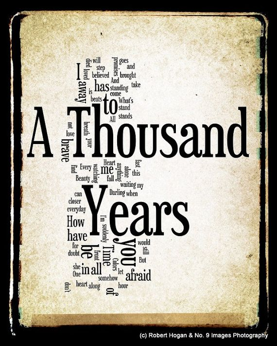 Thousand Years Mp3 Download : thousand, years, download, Twilight, Thousand, Years, Download, Slidetree