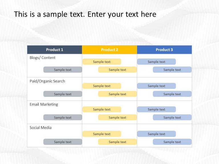 Overview of all products overview of hubspot's free tools marketing automation software. Digital Marketing Plan Template Marketing Plan Templates Slideuplift