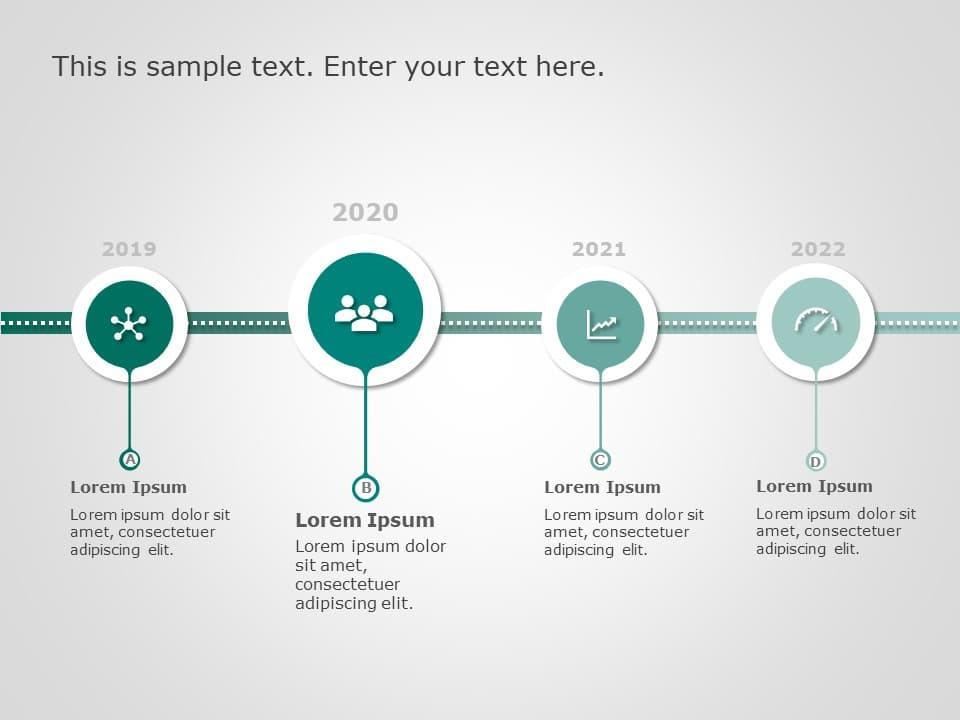 Timeline PowerPoint Template 12 | Timeline PowerPoint Templates | SlideUpLift