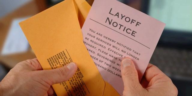 Lay-Off Notice