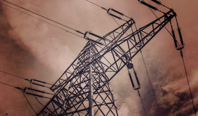 transmission poles