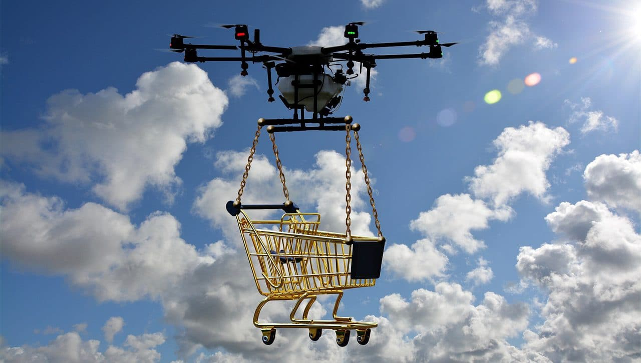 Delivery Drones & Drone Delivery companies.