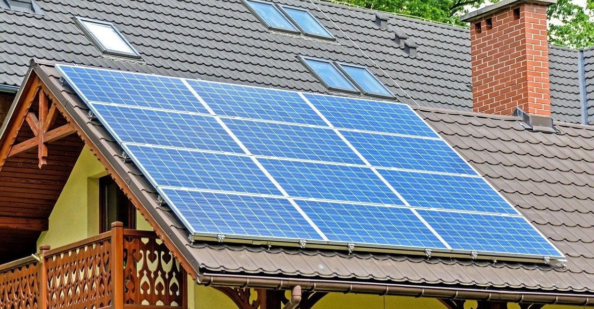 solar energy heating panel