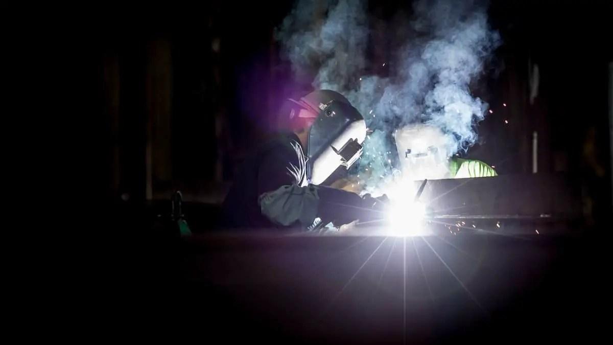 friction welding setup