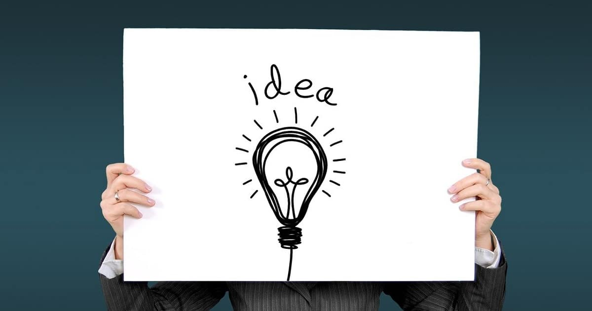 bulb glowing with idea- invention vs innovation