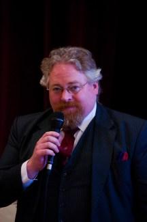 Derek Fanning, Hon. President speaking at the 40th Celebrations in Kinnitty