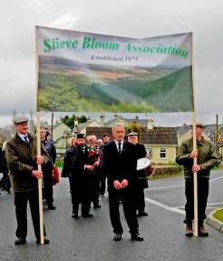 Johnny Rigney, Chairman, under the Slieve Bloom Association banner