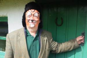 The Tiger Mick Dowling at Bealtine May Bush Festival in Rosenallis, 2016 - photo Kathleen Culliton