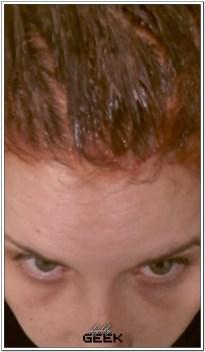 Farba na włosach