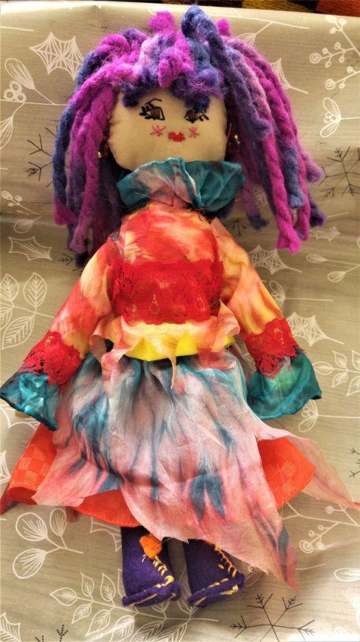 Esmeralda's doll
