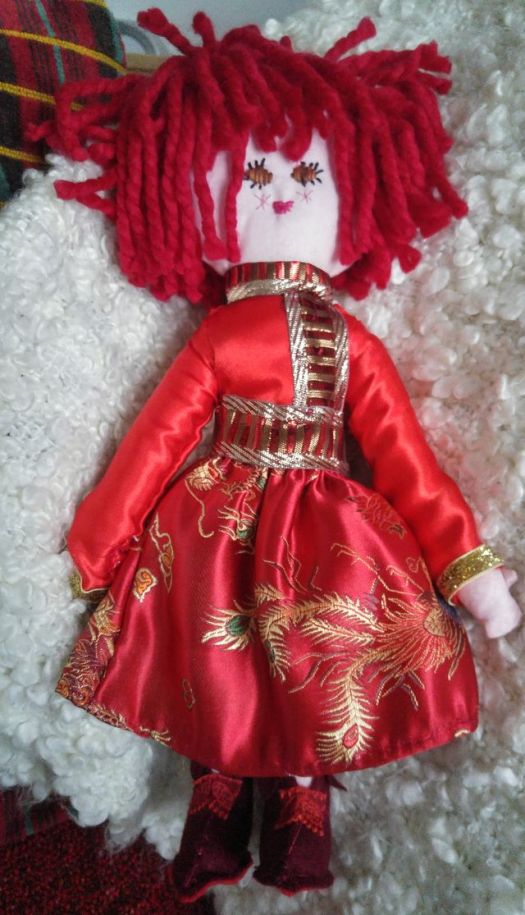 Chinese New Year Doll