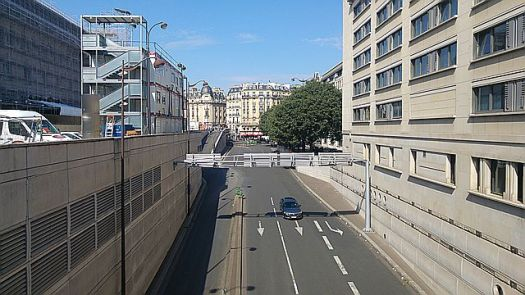 From the Gare de Lyon - the closest view I got of Paris