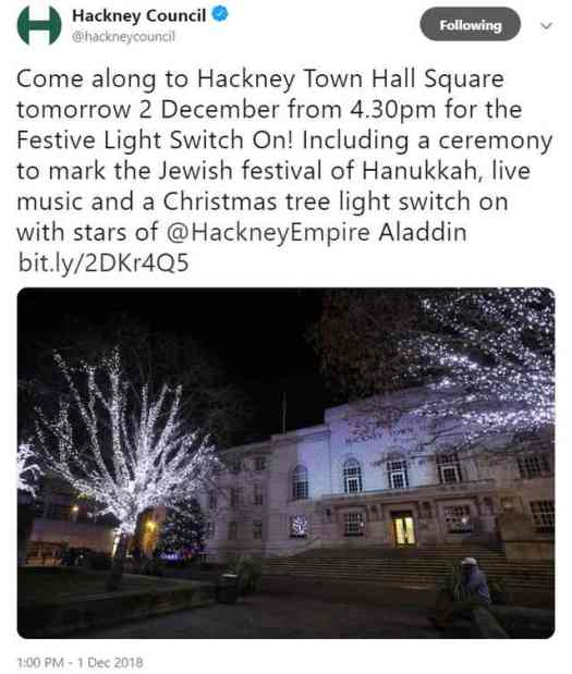 Hackney's invitation!