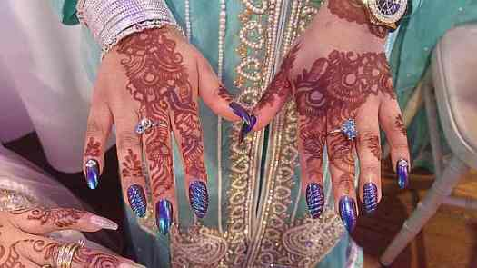 Mendhi - all beautiful, showing off the gorgeous rings too