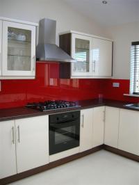 Interesting White Kitchen Red Splashback Latest Hia Award ...