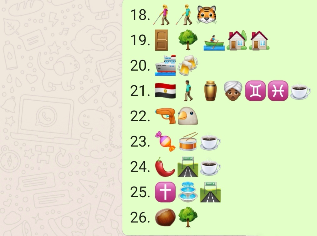 Round 2 emoji quiz - part 3
