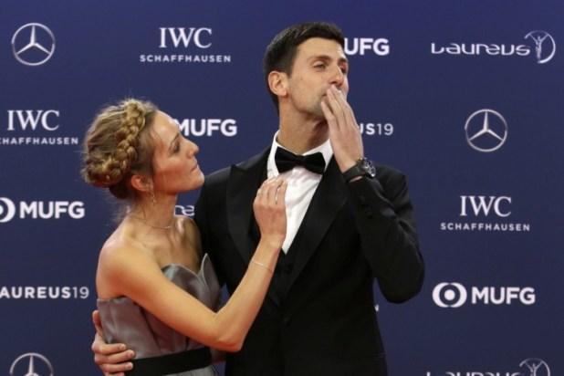 Image result for Novak Đoković četvrti put proglašen za najboljeg sportistu svijeta