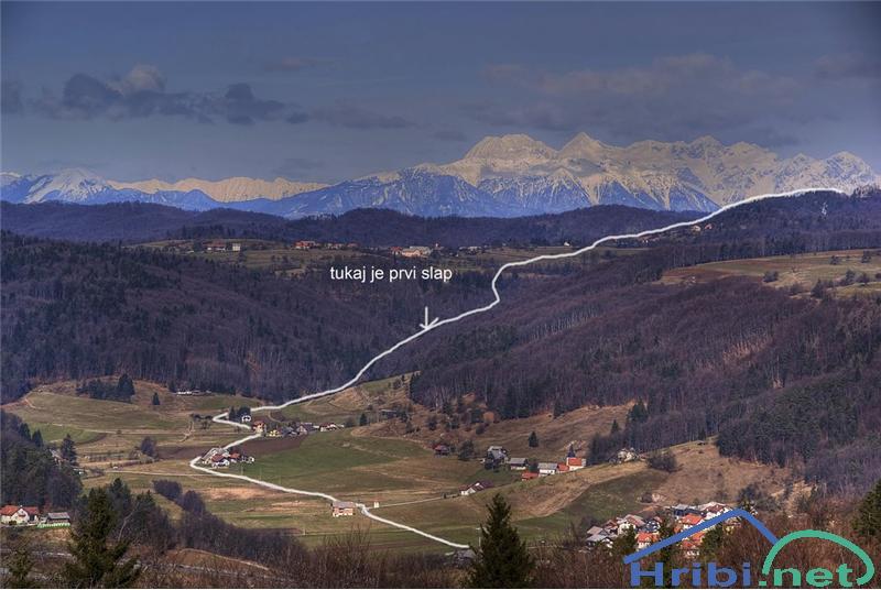 Vinja Gora Kucelj Pot Dveh Slapov Slika 139086