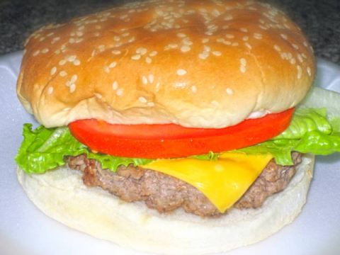 Old Fashion Hamburger