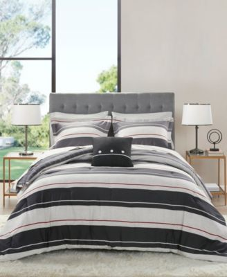 Dalton Bedroom Set : dalton, bedroom, Madison, Essentials, Dalton, Reversible, 8-Piece, Queen, Bedding, Reviews, Macy's