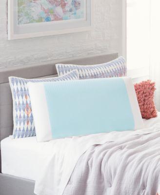 cool comfort hydraluxe pillows gel custom contour open cell memory foam