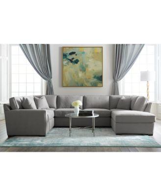 furniture callington fabric chaise