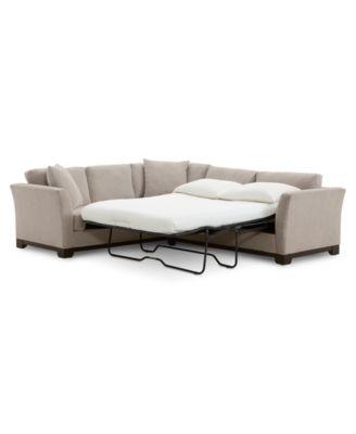 elliot ii 108 fabric 2 pc sleeper sofa sectional created for macy s