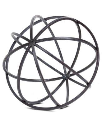 american art decor table top orb dyson sphere home decor sculpture figurine accessory