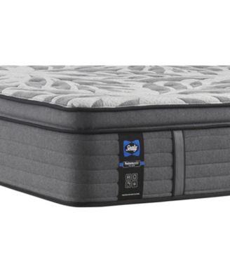 premium posturepedic satisfied ii 14 plush pillow top mattress king