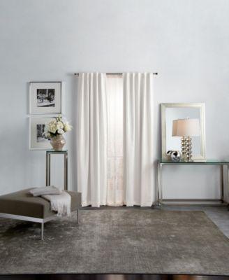 martha stewart park avenue metallic 95 backtab curtain panels