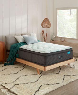 harmony emerald bay series 17 ultra plush pillow top mattress queen