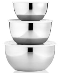 Martha Stewart Collection 3-Pc. Ceramic Mixing Bowl Set ...