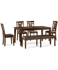 Belaire White Dining Room Furniture Collection - Furniture ...