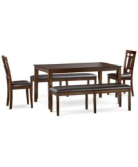 Delran 6-Piece Dining Room Furniture Set - Furniture - Macy's
