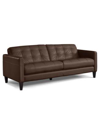 alec leather sofa collection shops glasgow city centre macy – thesofa