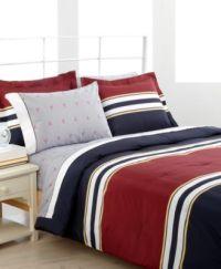 Tommy Hilfiger Bedding, Troy Comforter Sets - Bed in a Bag ...