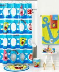 Nickelodeon Bath Accessories, SpongeBob Set Sail ...
